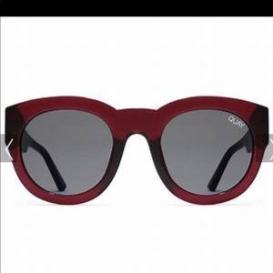 NEW! Quay rare If Only red sunnies READ